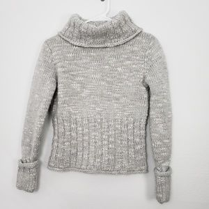 Hennes for H&M Chunky Crop Cowl Neck Sweater